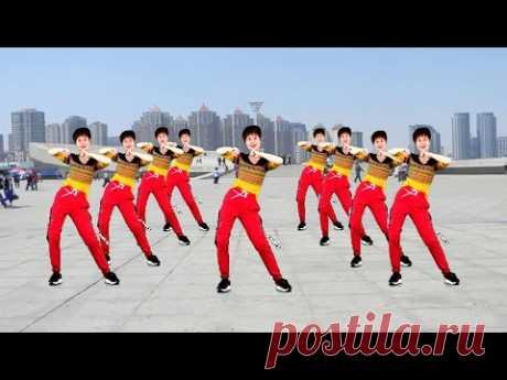 大眾有氧健身操《情火》,快速燃脂瘦身,每天堅持,月瘦10斤【笑春風廣場舞】