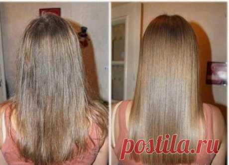 Маска с эффектом ламинирования волос! | Мамам, женщинам, бабушкам и очень любознательным.