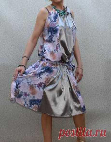 """""""Svetlana"""" Floral Spring Dress by Band of Tailors"""