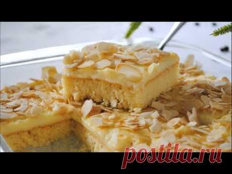 Простой МОЛОЧНЫЙ пирог к чаю 🌟 Простой и быстрый рецепт вкусного пирога 🌟 - YouTube