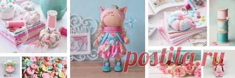 Эльза-Dolls — Текстильные куклы ручной работы
