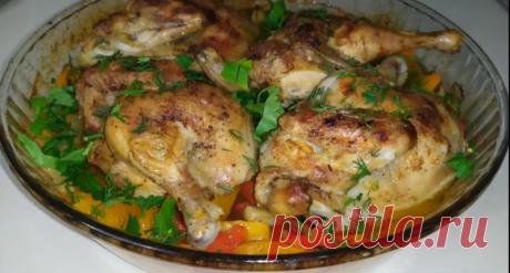 Цыпленок корнишон с тыквой – роскошный ужин для гурманов, секрет