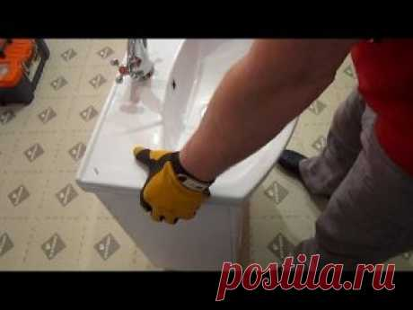 Установка сантехники после ремонта в ванной. Хитрости и особенности монтажа раковины на гипсокартон