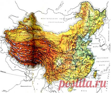 О рельефе Китая | Популярная наука | Яндекс Дзен