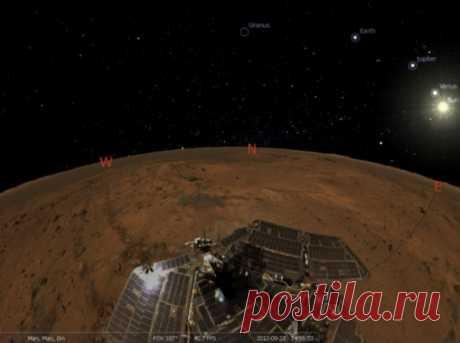 Stellarium -  одна из самых уникальных и необычных программ современности, которая, по сути своей, представляет не что иное, как виртуальный планетарий на компьютере. С ее помощью можно узнать много нового о космических объектах и явлениях. Она несколько напоминает Google Earth, однако, относится именно к космосу.