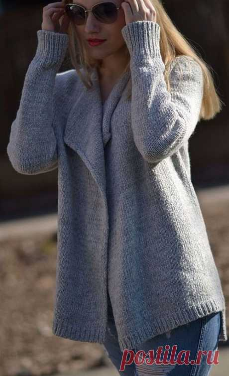 Модное вязание спицами 2018-2019: фото, тенденции, красивые вязаные вещи спицами - идеи
