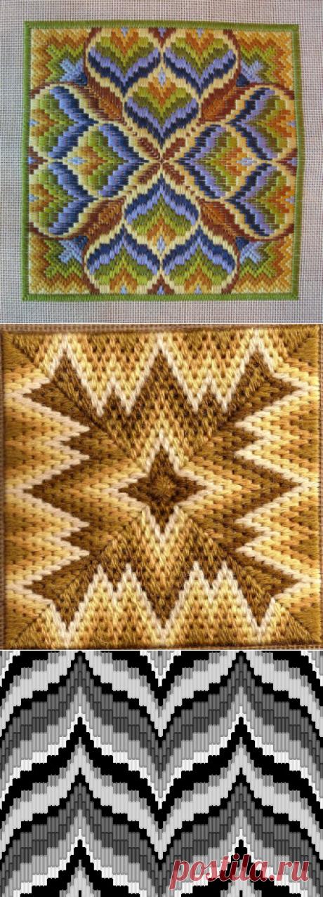 Вышивание-Designs for bargello
