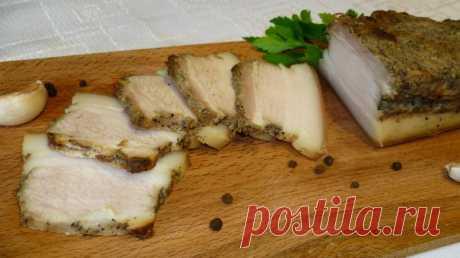 Свиная грудинка с горчицей, запеченная в рукаве - Простые рецепты Овкусе.ру