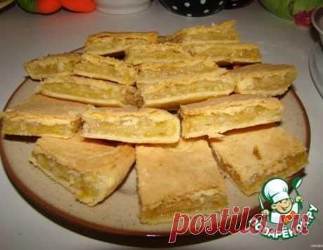 Лимонный пирог №2 – кулинарный рецепт
