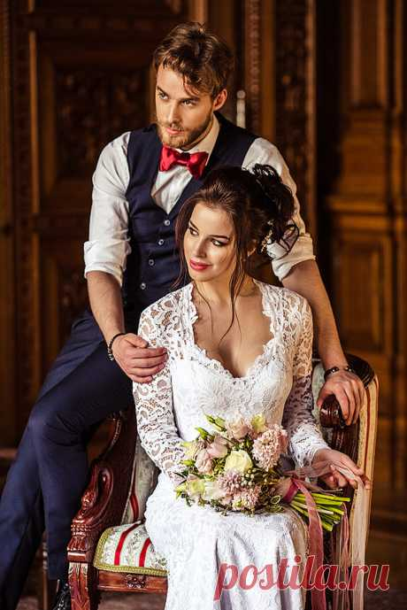 Романтичная свадьба в Питере...