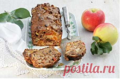 Яблочный хлебец с цукатами и сухофруктами — Фактор Вкуса