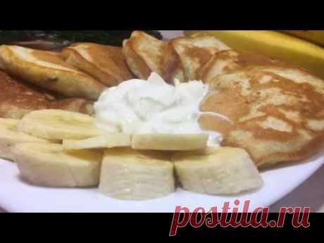 ВКУСНО! Банановые оладьи. Рецепт - YouTube