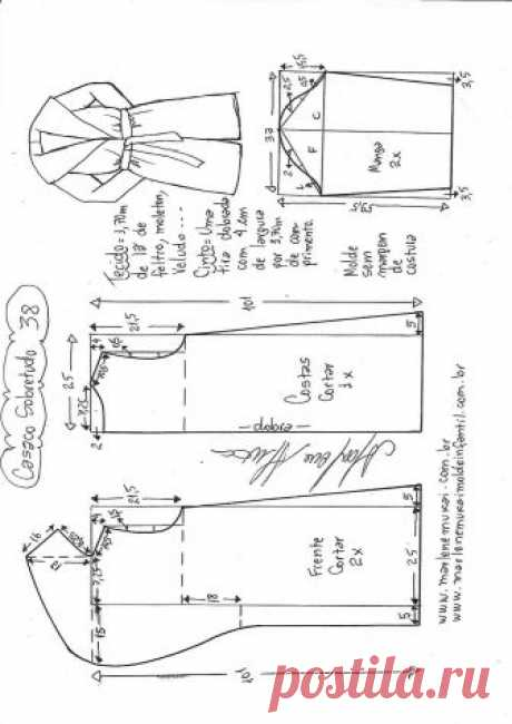 Пальто....... размер 36-56 португальский (см. таблицу 2-ое фото)