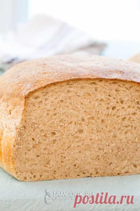 Хлеб на закваске с отрубями — рецепт с фото пошагово