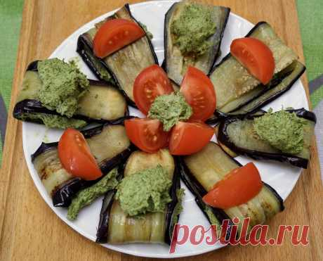 Быстрая закуска из баклажанов с изысканным соусом сациви | Найди Свой Рецепт | Яндекс Дзен