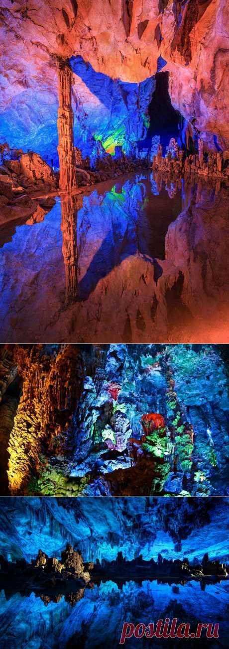 Пещера Тростниковой Флейты (Китай). Обсуждение на LiveInternet