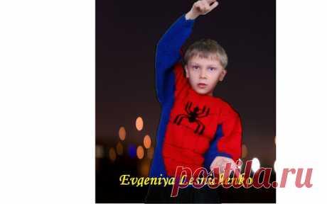 "Делоручечка: Свитер ""Человек-паук"""