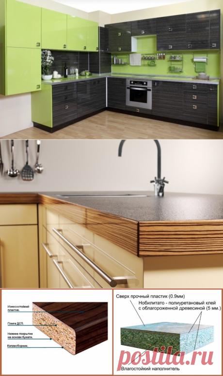 Las cocinas angulares del plástico: las fachadas para los muebles de cocina