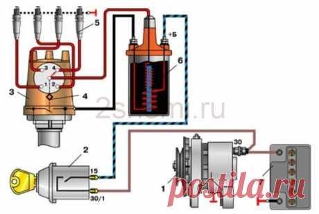 Схема ВАЗ-2107 | 2 Схемы