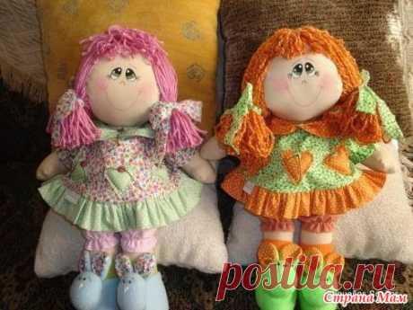 Кукла из ткани Выкройка - Рукодельная копилка - Страна Мам