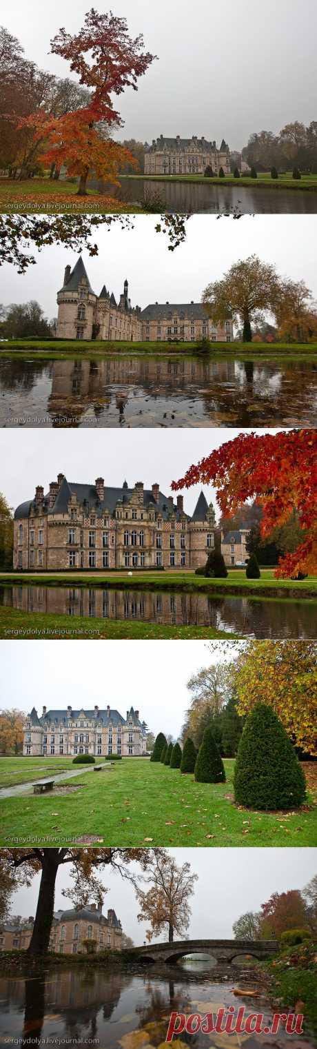 Французские замки. Осень.