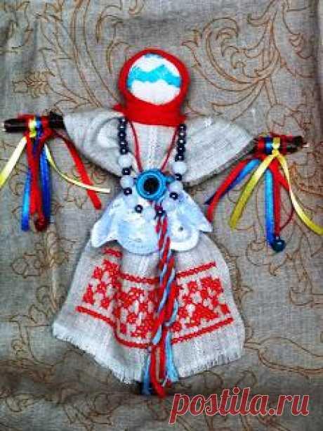 """Народная кукла """"Желанница"""". Подарите кукле украшение или ленту, а она в замен желание исполнит."""