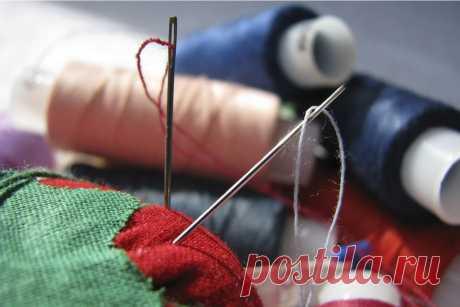 Хитрости по вдеванию нитки в иголку | Делимся советами