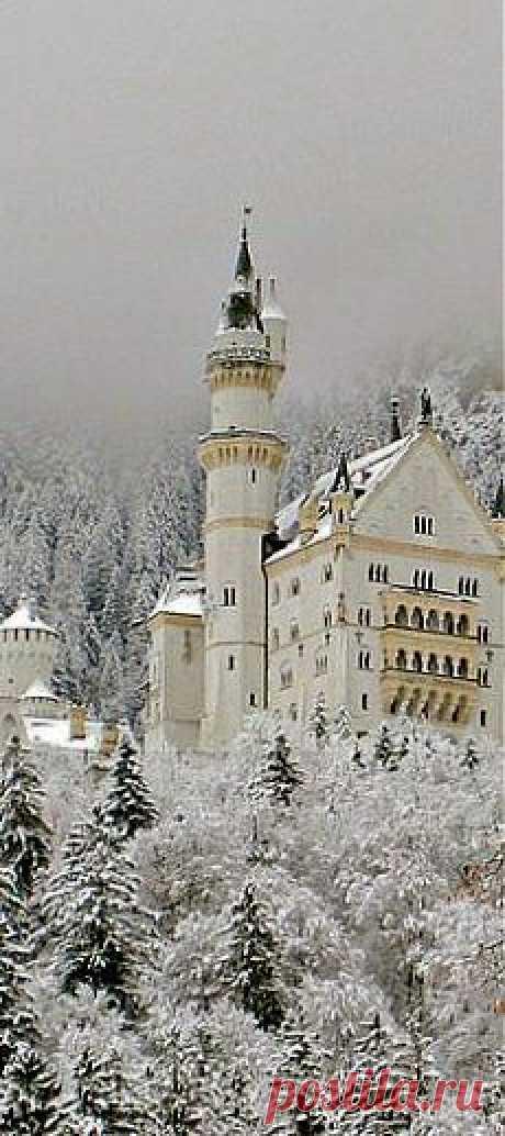 замок Нойшвайнштайн