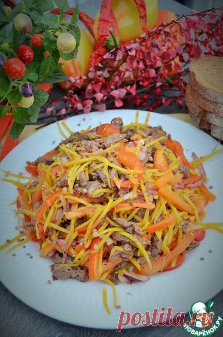 """Салат """"Крутые перцы"""" – кулинарный рецепт"""