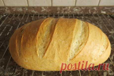 Хлеб из пшеничной муки.   Моя кулинарная книга   Яндекс Дзен