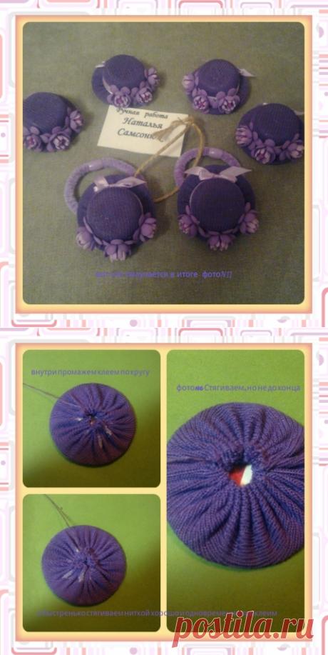 МК шляпки / Прочие виды рукоделия / Другие виды рукоделия