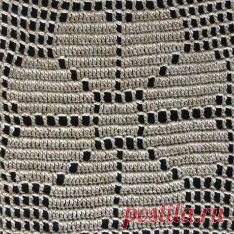 филейное вязание - Самое интересное в блогах