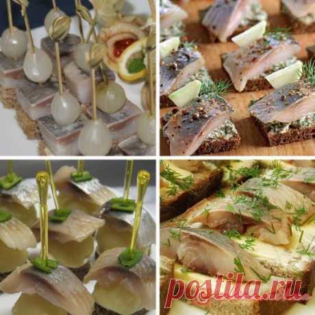 Рецепты канапе на Новый год с фото | красиво и вкусно