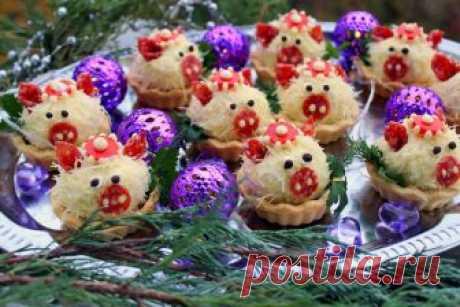 """Тарталетки """"Свинки"""" с сырной начинкой - пошаговый рецепт с фото   HandMade39.Ru   Яндекс Дзен"""