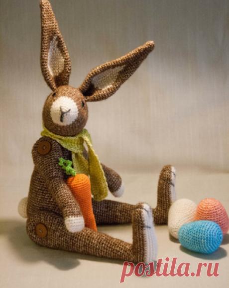 PDF Пасхальный Заяц - Господин Хаас. Бесплатный мастер-класс, схема и описание для вязания игрушки амигуруми крючком. Вяжем игрушки своими руками! FREE amigurumi pattern. #амигуруми #amigurumi #схема #описание #мк #pattern #вязание #crochet #knitting #toy #handmade #поделки #pdf #рукоделие #заяц #зайка #зайчик #зайчонок #зая #зай #rabbit #hare #lepre #conejo #lapin #hase #пасха #пасхальный #easter