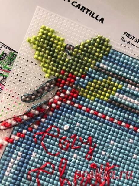 Как приручить французские узелки. Пошаговая инструкция для начинающих   Вышивальщица и её сфинкс   Яндекс Дзен