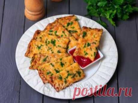 Сырные хлебцы из кабачков — рецепт с фото Аппетитные хлебцы из кабачков, покрытых золотистой корочкой расплавленного сыра - закуска, которая придется по вкусу всей семье.