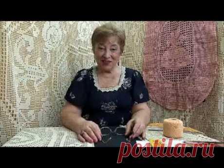 Всё, что надо знать о филейном вязании. Мастер-класс по вязанию крючком от О. С. Литвиной.