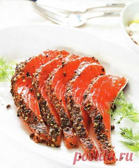 "Salmon of \""Gravlaks\"" → For every taste → CHEF.tm — the Best recipes"