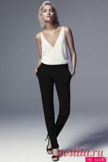 Шик в простоте: секреты стиля минимализм: Территория моды - мода на Relook.ru
