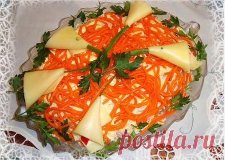 Настоящий «Мужской» салат — сытный и очень мясной