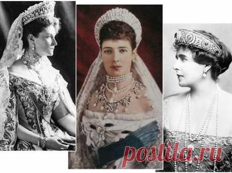 Утраченные сокровища Империи: самые красивые тиары Романовых (и где они сейчас) | Marie Claire