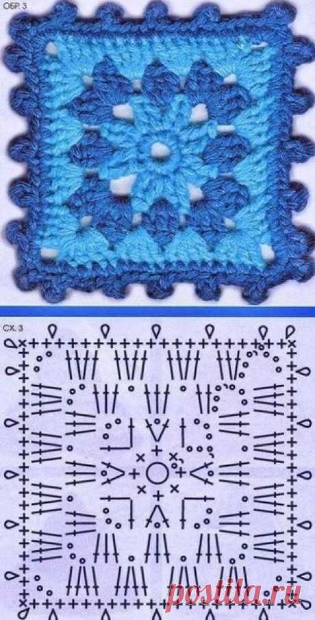 Эти фрагменты можно использовать для вязания пледов, сумочек, покрывал, украшения одежды