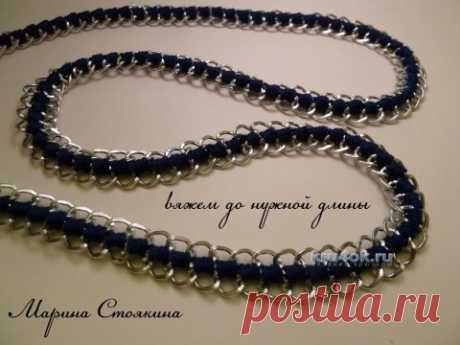 MK por la fabricación de la mano para el bolso de Marina Stoyakinoy