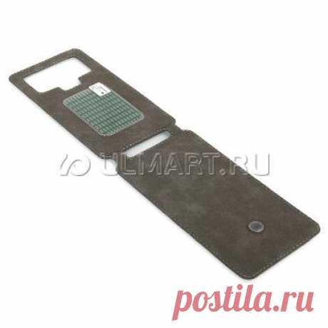 """Чехол-флип """"Norton"""", черный, ультратонкий, универсальный для смартфонов 4,3""""-4,7"""", 3528649: характеристики, отзывы, фото, цена - интернет-магазин Юлмарт"""