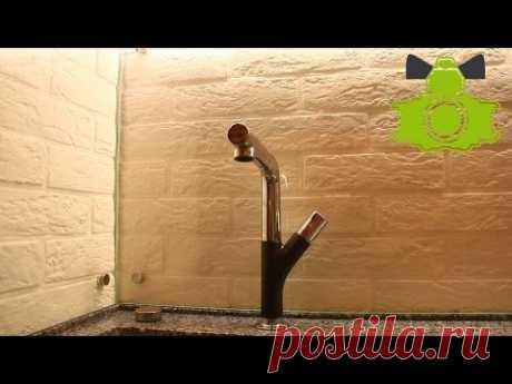 Слабый напор воды в кране, что делать? / Bad water head. Solution methods