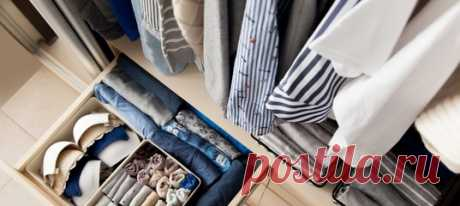 От сортировки одежды до выбора вешалок и контейнеров.