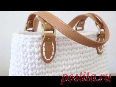 Crochet Handbag Quick Clip-Full Video Tutorial included in the Pattern!