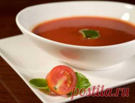 Как приготовить суп из свежих помидоров