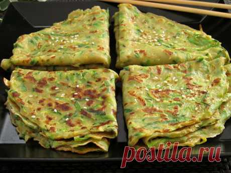 Постигая искусство кулинарии... : Блинчики из цуккини по-пекински (Лаобэйцзин Хутацзы)